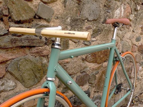 bamboo bicycle handlebar