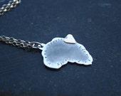 Africa  love pendant
