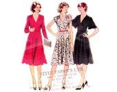 70s Wrap Dress Pattern  Style 2065