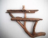 Beautiful hand made Vermont Mountain driftwood shelf