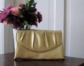 Golden Sparkly Glitzy Clutch