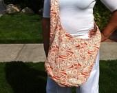 ORANGE'CICLE - 100% Cotton Cross-Body Sling Bag