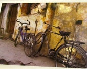 Bicycle Greeting Card: Double Bicycles 5x7 Any Occasion card