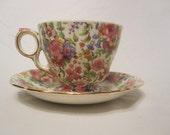 Chintz Grimwades Tea cup & Saucer, SALE