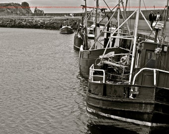 "Howth, Ireland - ""Fishing Boats"" - Fine Art, Travel Photography, Various sizes / matted available"
