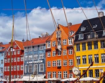 """Copenhagen, Denmark - """"Nyhavn"""" - Fine Art, Travel Photography, Various sizes / matted available"""
