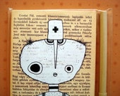 Moleskine - Handmade Art Journal - Dr. Circle MOHA notebook gift pack - from Hungary by Moha