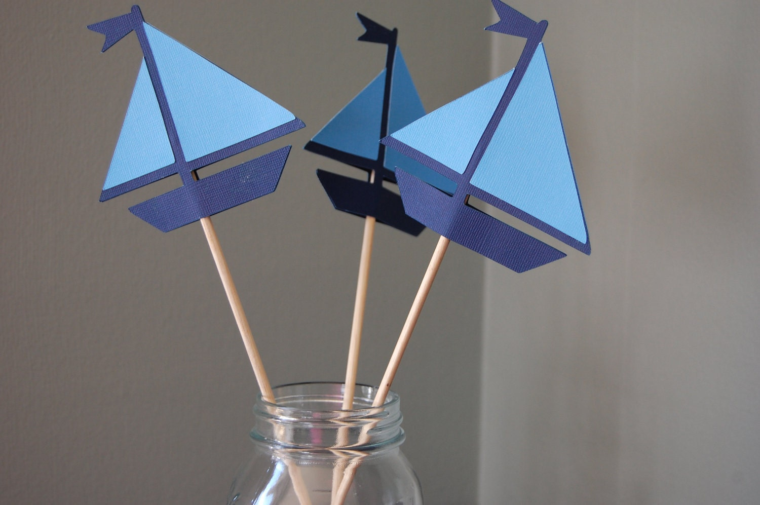sailboat centerpieces nautical centerpieces 8 pcs