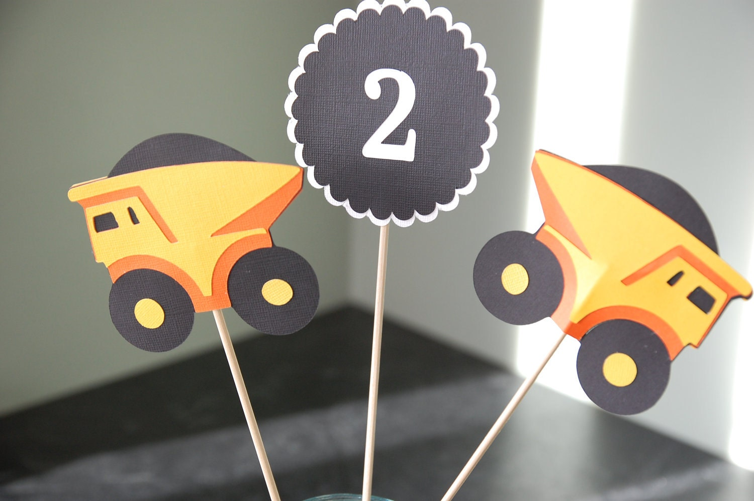 Construction Birthday Party Decorations Dump Truck Shower Etsy