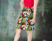Universal HORROR Movie MONSTERS halter dress