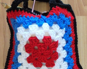 Granny Bag - crochet PATTERN - pdf
