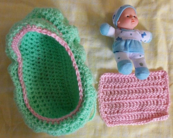 Doll Bassinet-Purse PDF pattern