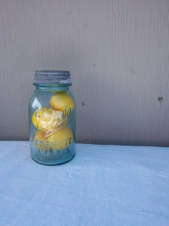 Vintage ball canning jar wedding by godsavestrawberryjam