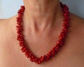 Red 'Coral Seed' necklace