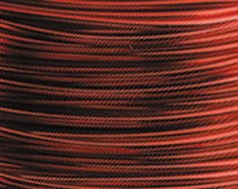 ARTISTIC WIRE RED 18 Gauge 25 Ft for use with Olympus WigJig or Wire Bending Tools (A 3.5)
