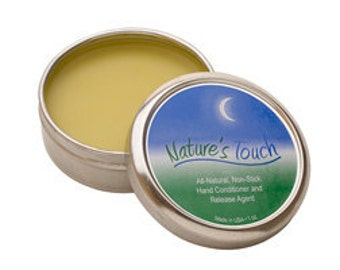 METAL CLAY BALM - Nature's Touch Hand Conditioner - Non Stick - Release Agent 1 oz. Helps Keep Clay from Sticking to Hands