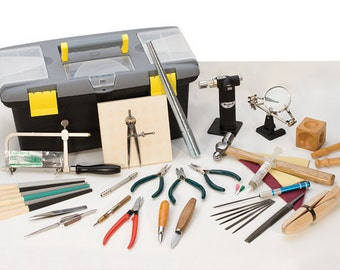 JEWELERS HAND TOOL Set - Essentials to Get Started in Metal Smithing -  Jewelry Tools for Metal Work
