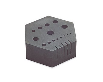 Hexagonal Anvil Riveting Stake -Make Your Own Head Pins - Rivet and More -  Metal Working Jewelry Tool - ANV-170.00