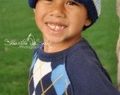 Baby Crochet Newsboy Hat Pattern - Newborn to 12 months