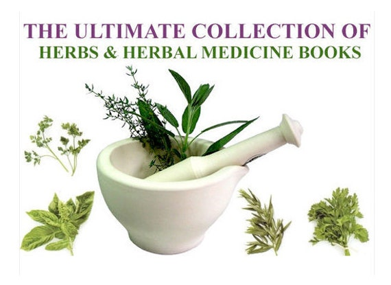 40 Digital HERB GARDEN BOOKS See The Customer Reviews about The Ultimate Collection of Culinary and Medicinal Herbs Digital Download