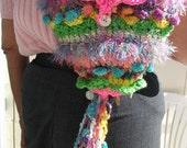 Freeform crochet HAPPY PURSE