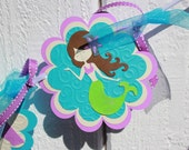 Little Mermaids Birthday Banner