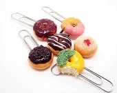 Donuts Paper Clips