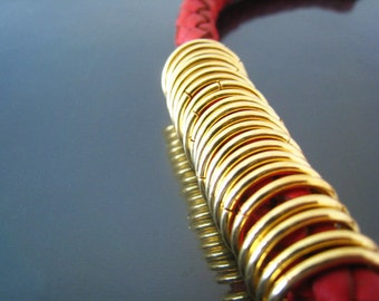 Finding - 20 pcs Gold Large Open Jump Rings 16mm