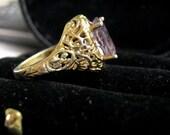 Ladies' Gold Vermeil Filigree Ring