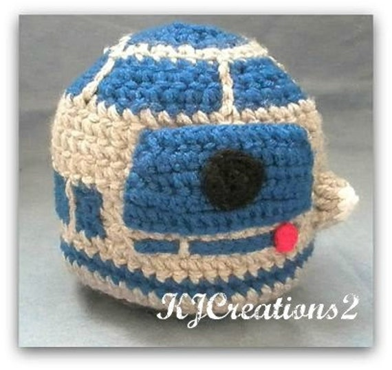 Cotton droid hat-Preemie size ready to ship.