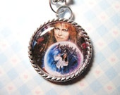 Labyrinth Jareth David Bowie Movie Cameo Pendant Necklace