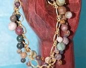 Reserved Listing for Lesly - Nature's Beauty Bracelet