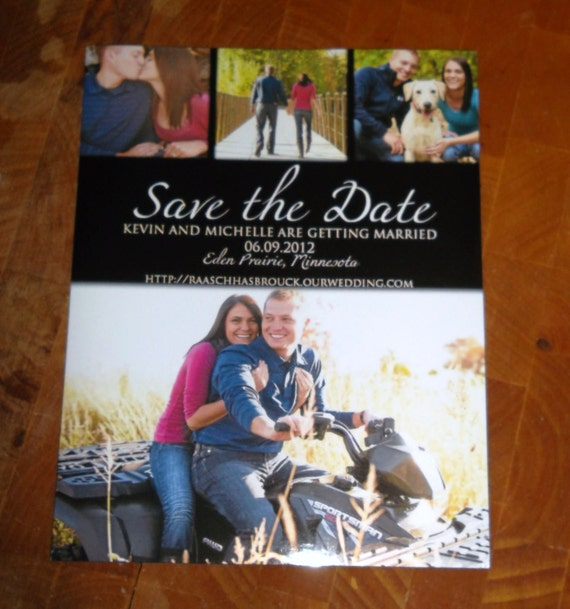 Save the Date: Digital File, Magnets, or Postcards Available