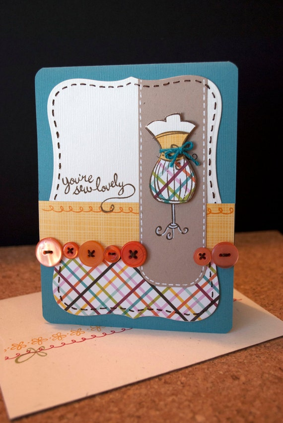 You're Sew Lovely Card