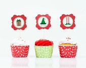 LIME GREEN and White Polka Dot Baking Cups/Candy Cups/Nut Cups-set of 24