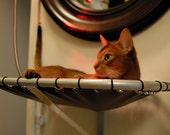 Wall Mounted, Handmade, Steel Cat Hammock