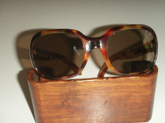Vintage over sized sunglasses,made in France 1970's