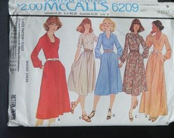 McCall's 6209 Pattern