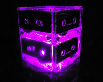 Night light Music Lover Purple Mixtape Light Party Centerpiece LED Mood Light Night Light