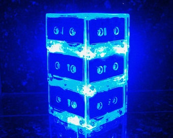 10 Lighted Wedding Table Centerpiece for Music Themed Wedding Rock n Roll Retro 80s 90s Rocker Rockstar