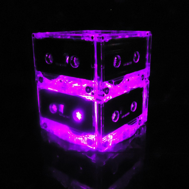 Night Light Music Lover Purple Mixtape Light Party Centerpiece