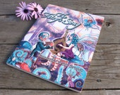 Fantasy Art Book Fairies, Dragons, Mermaids, Celtic Watercolors by Cara and Christi Brown