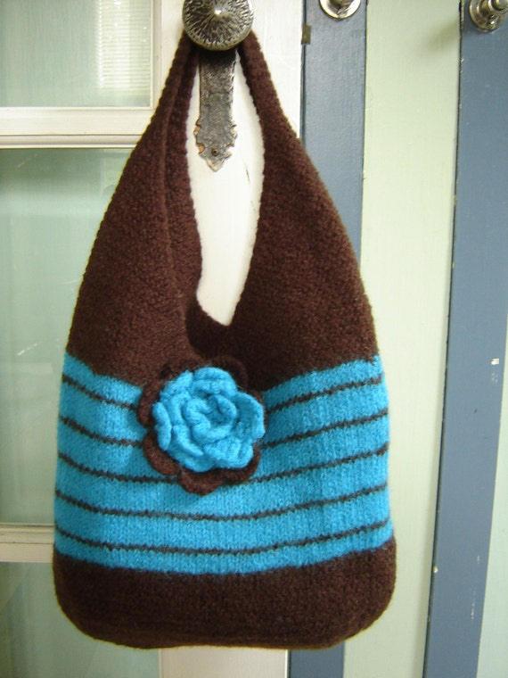 Free Knitting Pattern Felted Bag : Unavailable Listing on Etsy