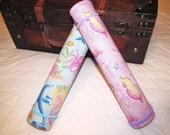 Chalkboard Mat and Chalk roll- Mermaid Dancing Partners in Purple or Blue