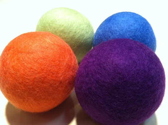 Dryer Balls Wool For Laundry, 6 Little Bo Peep,  Can Be Scented