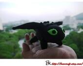 Cute Toothless Dragon / Night Fury Dragon  (Mini size)