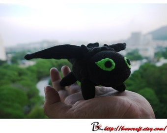Cute Toothless Dragon / Night Fury Dragon  (Mini size)