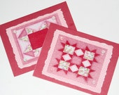 Handmade Greeting Cards Paper Quilted Paper Pieced Original Design