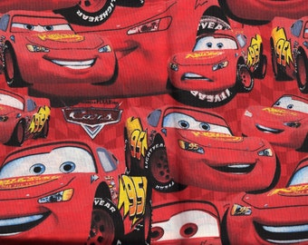 Lightning McQueen Personalized Kindermat Cover