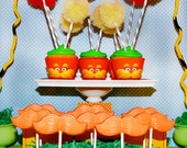 Dr. Seuss' the Lorax Inspired Cupcake Wrappers - 12 Quantity